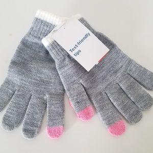 💎NWT Kids Text Friendly Gloves